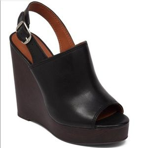 Lucky Brand Ronand Leather Wedge